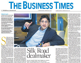 Business Times - Silk Road Dealmaker