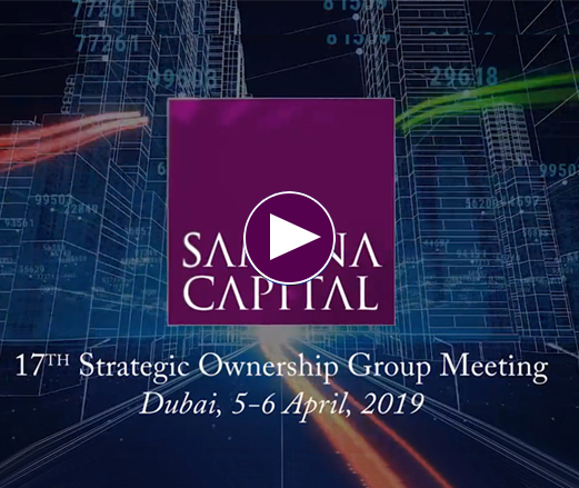 14th Strategic Ownership Group Meeting, April 2016